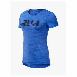 Reebok One Series Running ACTIVChill Graphic Running Top, Crushed Cobalt