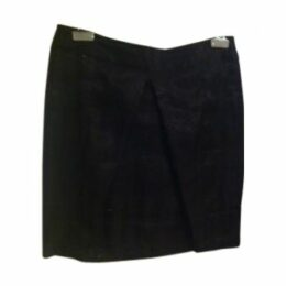 Black Viscose Skirt