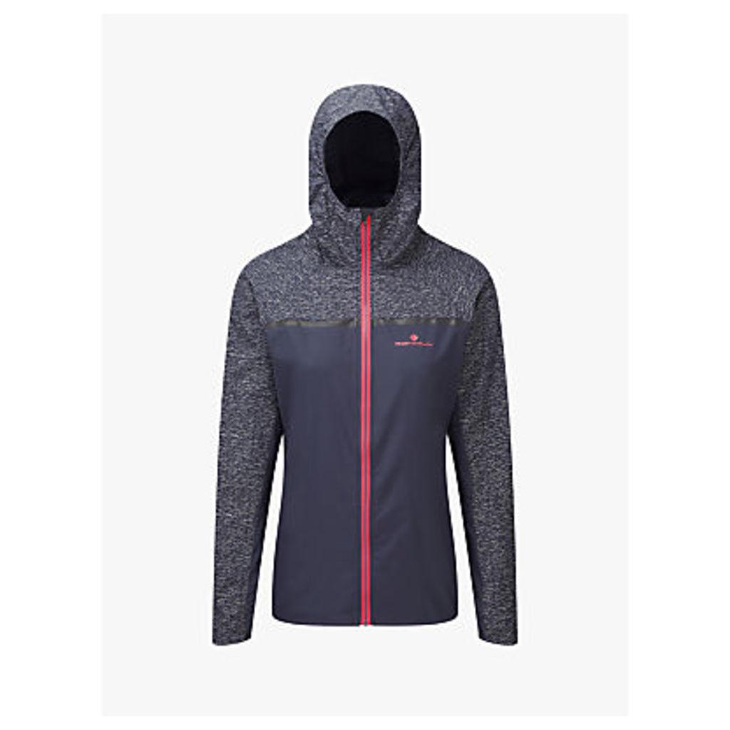 Ronhill Momentum Afterlight Women's Running Jacket, Grey/Hot Pink