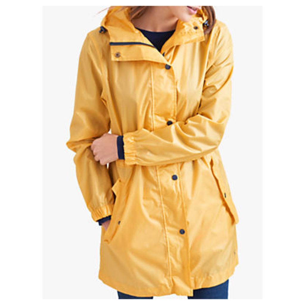 Joules Golightly Pack-Away Waterproof Parka Coat