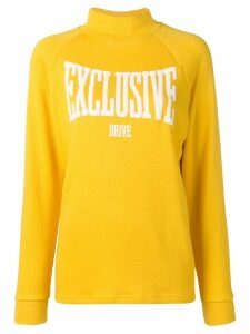 Roseanna mock neck sweatshirt - Yellow