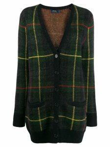 Polo Ralph Lauren checked V-neck cardigan - Green