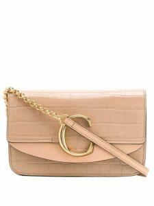 Chloé C chain clutch - Pink