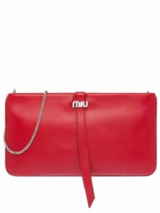 Miu Miu Nappa leather clutch - Red