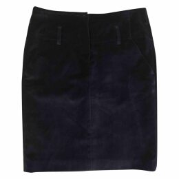 Velvet skirt suit