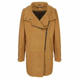 Mado Et Les Autres  Warm coat  women's Coat in Yellow