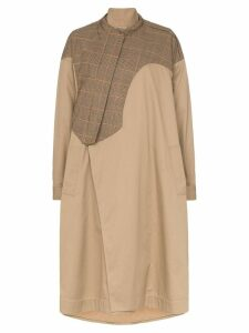 Preen By Thornton Bregazzi hannah padded oversized coat - Camel