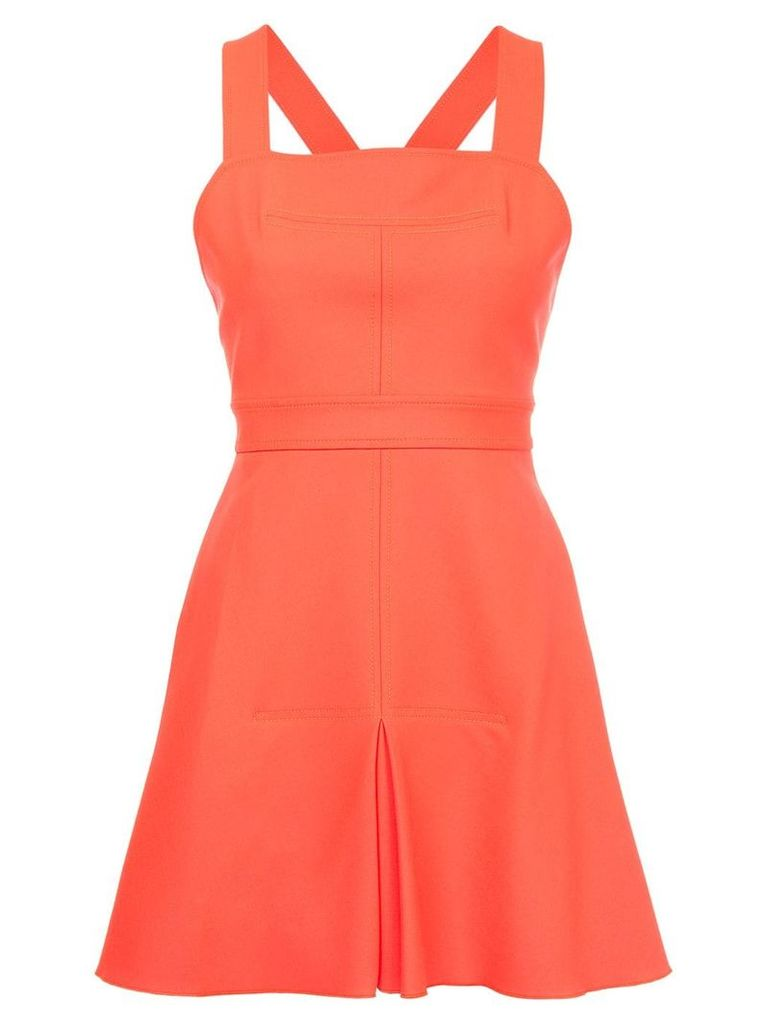 Dion Lee Utility Apron dress - Red