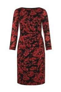 Womens Hobbs Red Sacha Dress -  Red