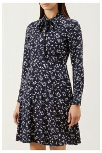 Womens Hobbs Blue Laila Dress -  Blue