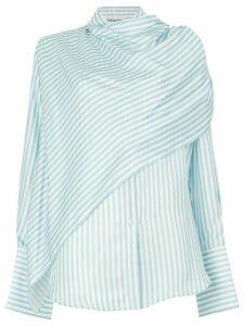 Monse wrap shirt - Blue