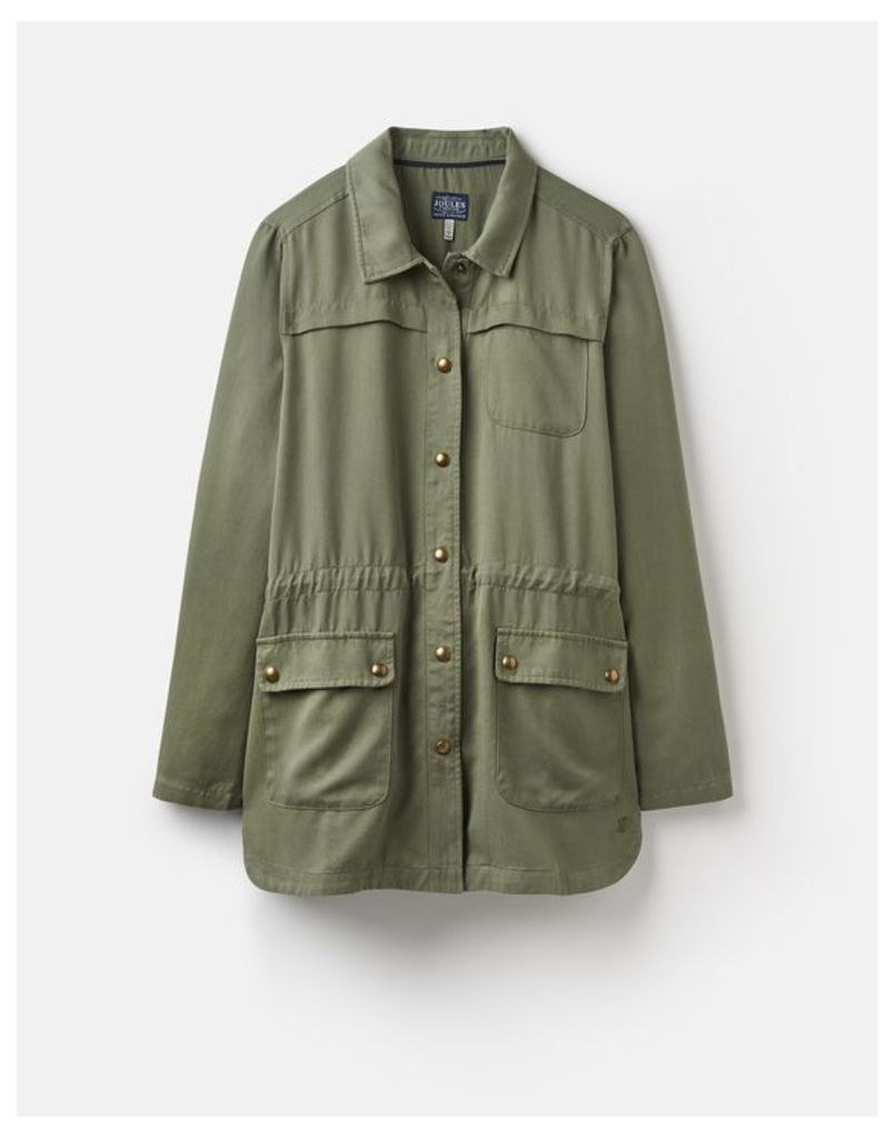 SOFT KHAKI 204544 Safari Jacket  Size 10