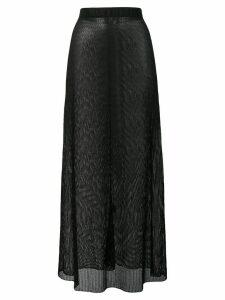 Fisico fishnet style skirt - Black