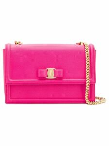 Salvatore Ferragamo Vara blow flap bag - Pink