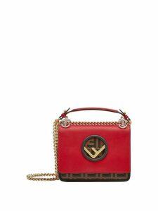 Fendi small KAN I F shoulder bag - Red
