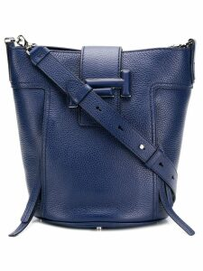 Tod's Double T tote - Blue