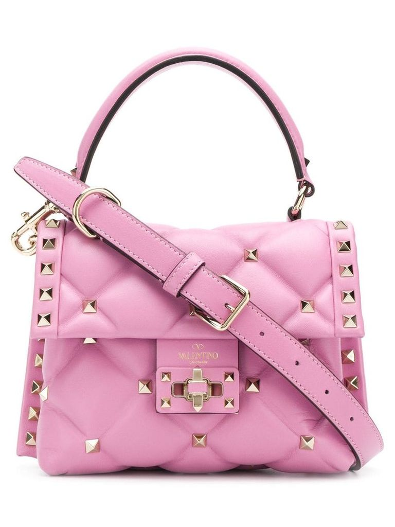 Valentino Valentino Garavani Candystud mini tote - Pink
