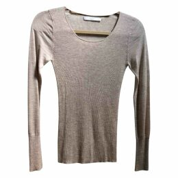Cashmere jersey top