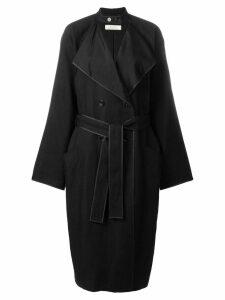 Nina Ricci double breasted coat - Black
