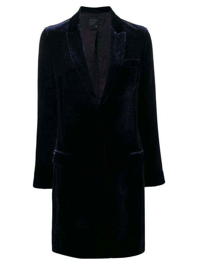 Nili Lotan reese coat - Blue