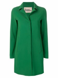 Herno classic single-breasted coat - Green