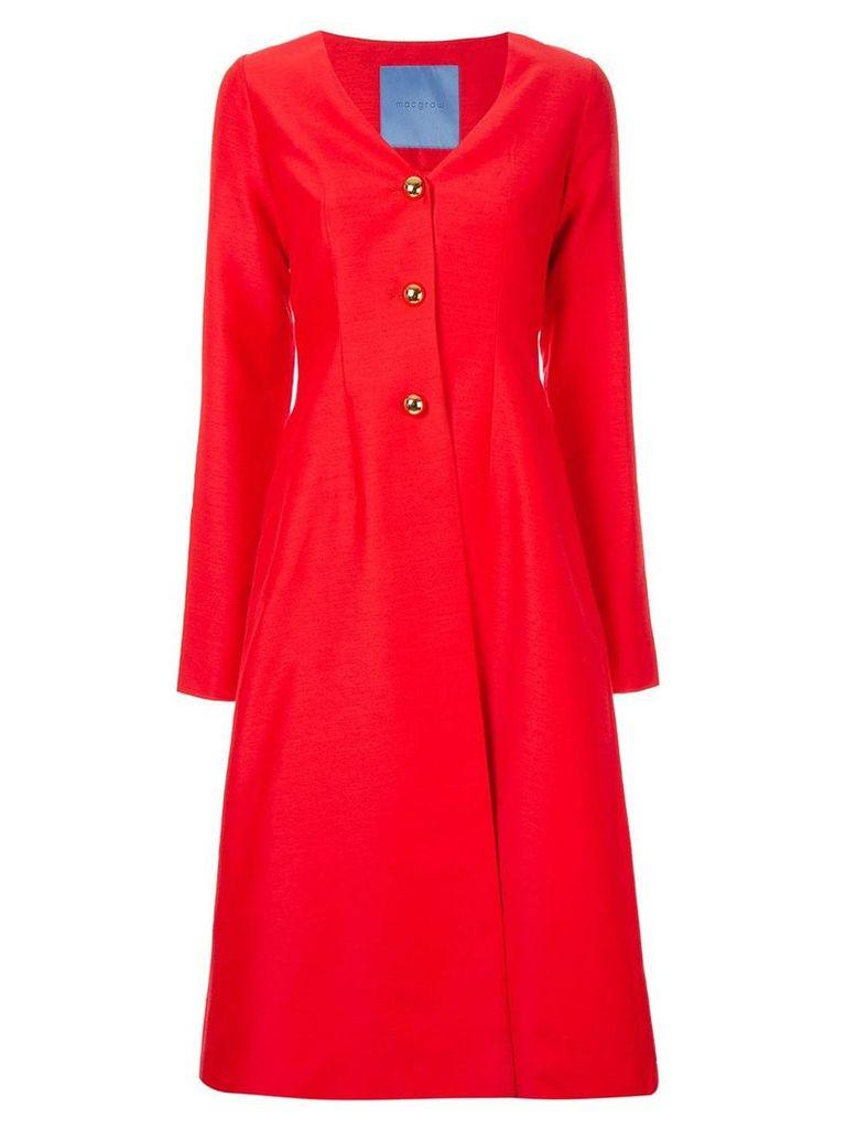 Macgraw Cardinal coat - Red