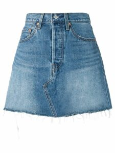 Levi's fitted denim skirt - Blue