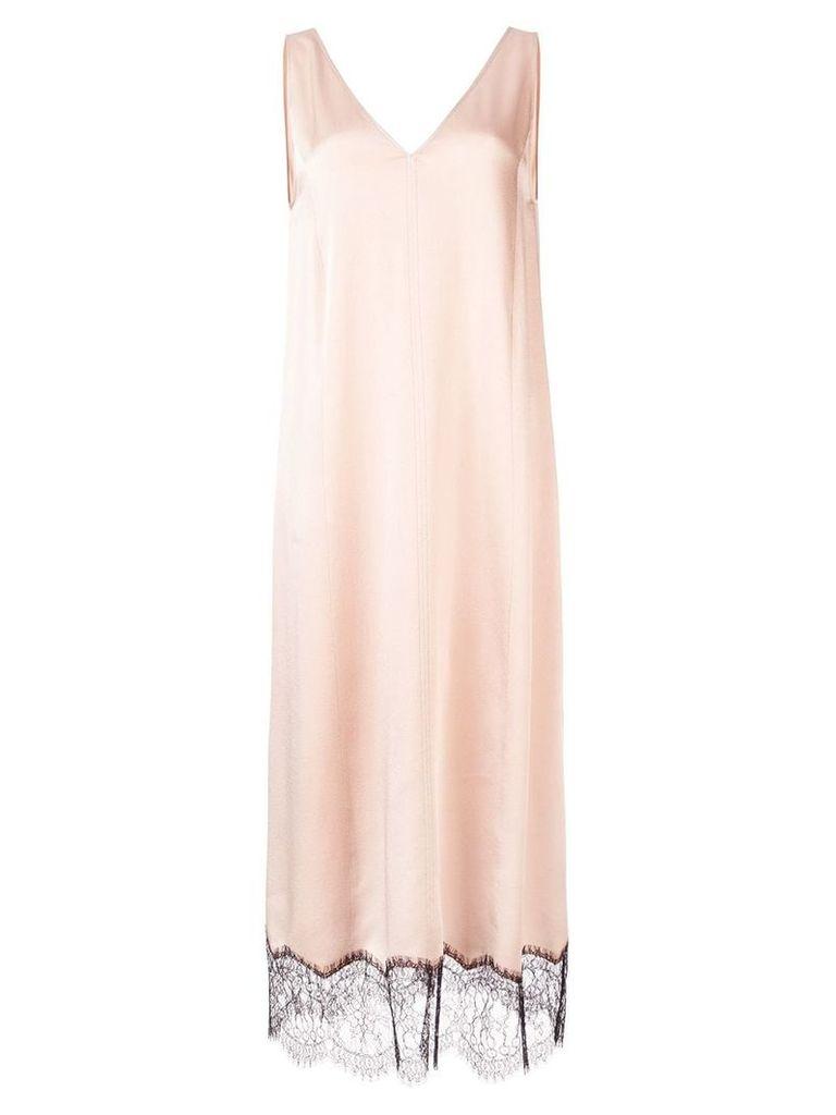 Joseph lace detailed slip dress - Pink