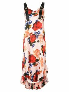 Mother Of Pearl Florence dress with crossback straps - Pink
