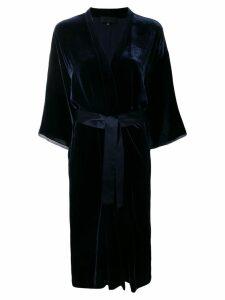 Nili Lotan rey kimono dress - Blue