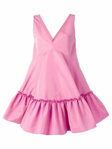 Nº21 baby doll v-neck dress - Pink