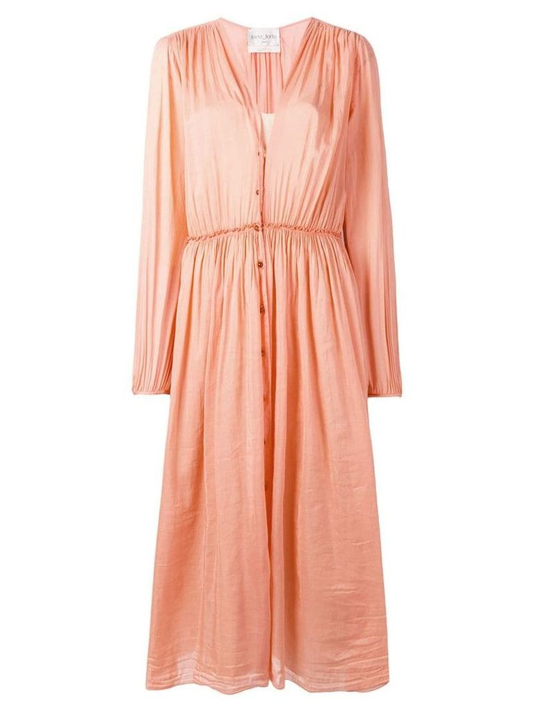 Forte Forte oversized shirt dress - Pink