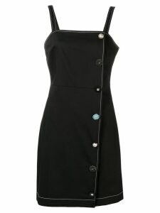 Vivetta button embellished dress - Black