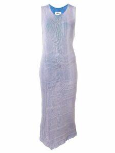 Mm6 Maison Margiela loose midi dress - Blue