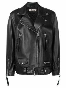 Acne Studios New Myrtle oversized jacket - Black