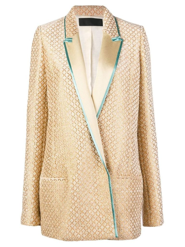 Haider Ackermann long blazer - Brown