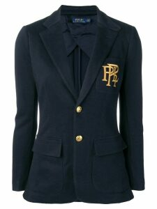 Polo Ralph Lauren logo embroidered jacket - Blue