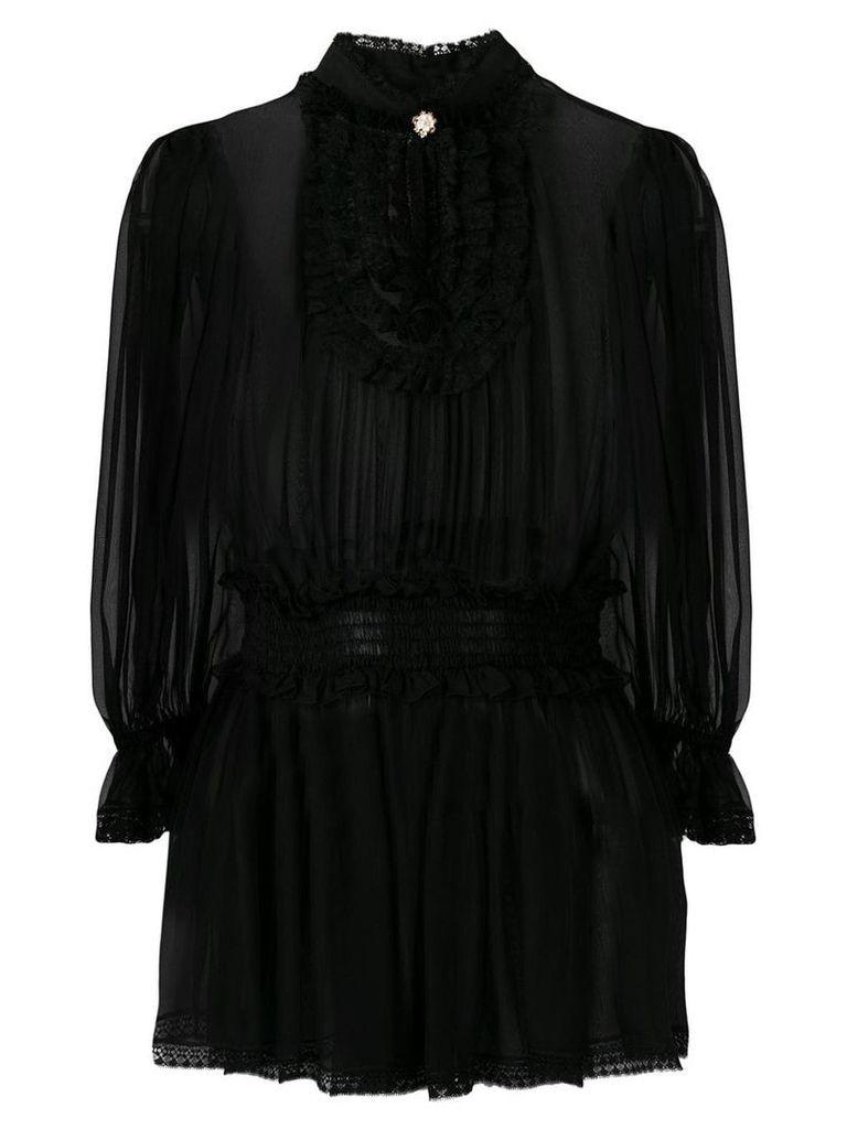 Dolce & Gabbana Chiffon blouse - Black