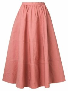 Bottega Veneta flared A-line skirt - Pink
