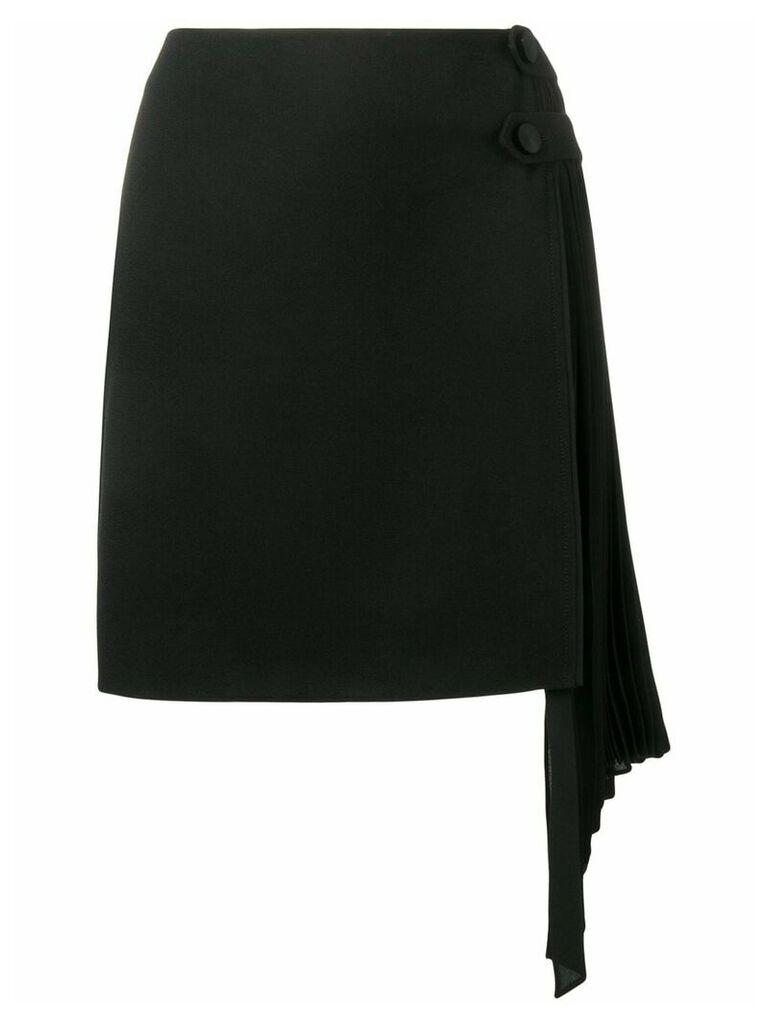 Givenchy asymmetric skirt - Black