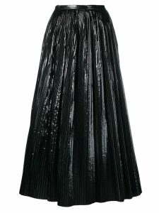 Maison Margiela pleated skirt - Black