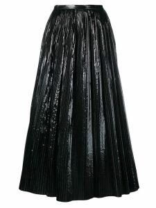 Maison Margiela pleated skirt - Black