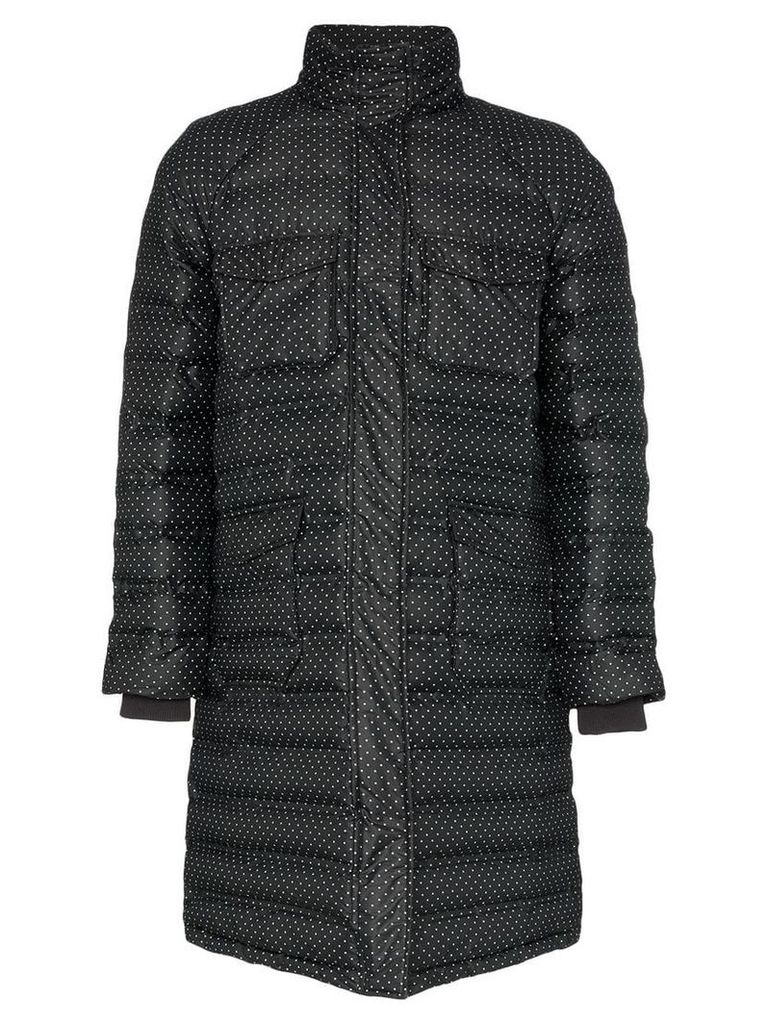 Ganni padded Foxworth coat - Black