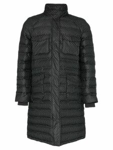 Ganni padded Foxworth coat - Black