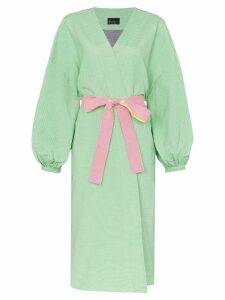 N Duo Its Robe O'clock belted kimono jacket - Green