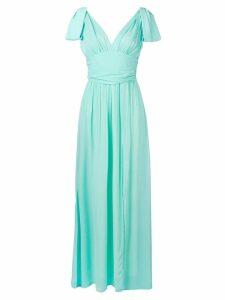 Pinko V-back dress - Green