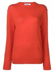 Jil Sander knitted jumper - Orange