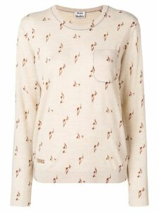 Acne Studios Khloe patterned sweater - Neutrals