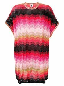 M Missoni oversized fit jumper - Pink