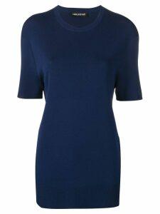 Neil Barrett oversized T-shirt - Blue